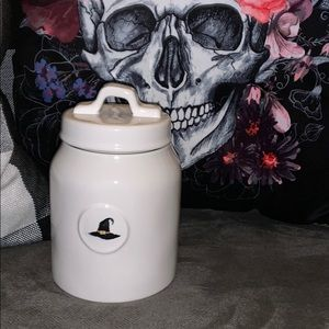 "Rae Dunn Canister ""WITCH"""